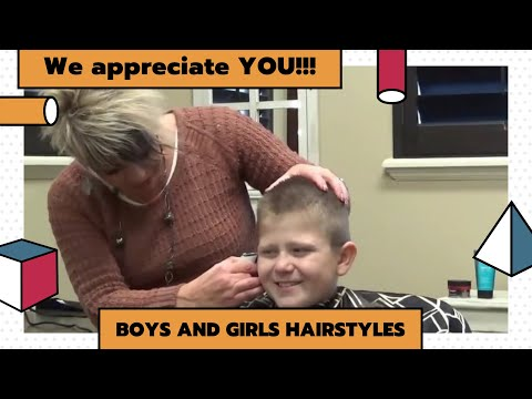 (Boys Buzzcut Hairstyles) Transition to Short Hairstyle   Crewcut