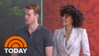 Stars Of Lifetime's 'Harry And Meghan' On Playing Prince Harry & Megan Markle | TODAY