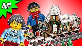 Lego Creator Winter VILLAGE STATION 10259 Speed Build
