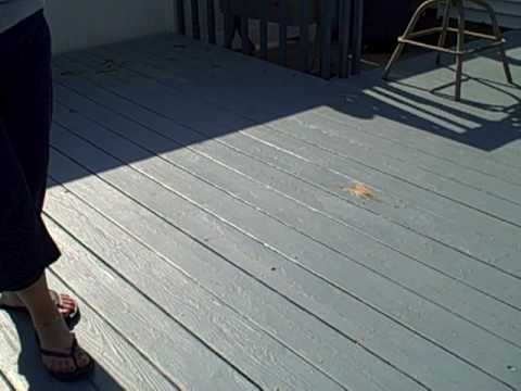 Dont paint your deck, let me show you why,  by Power washing Dragon and Painting, PDP.