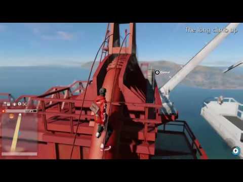 Climbing the Golden Gate Bridge {Watchdogs 2}