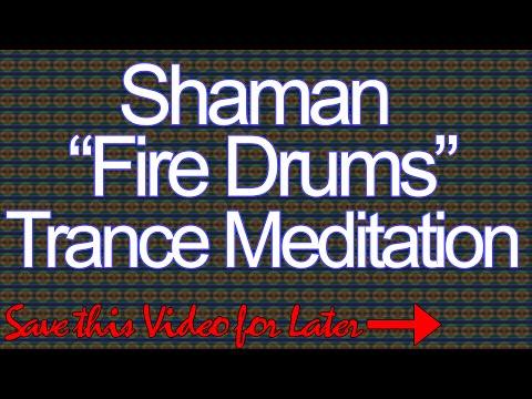 *Powerful-Must See* Shaman Fire Dance Trance Meditation - American Drum Meditation