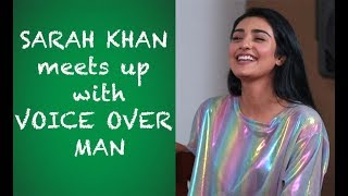 Sara Khan interview with Voice Over Man. Episode #43