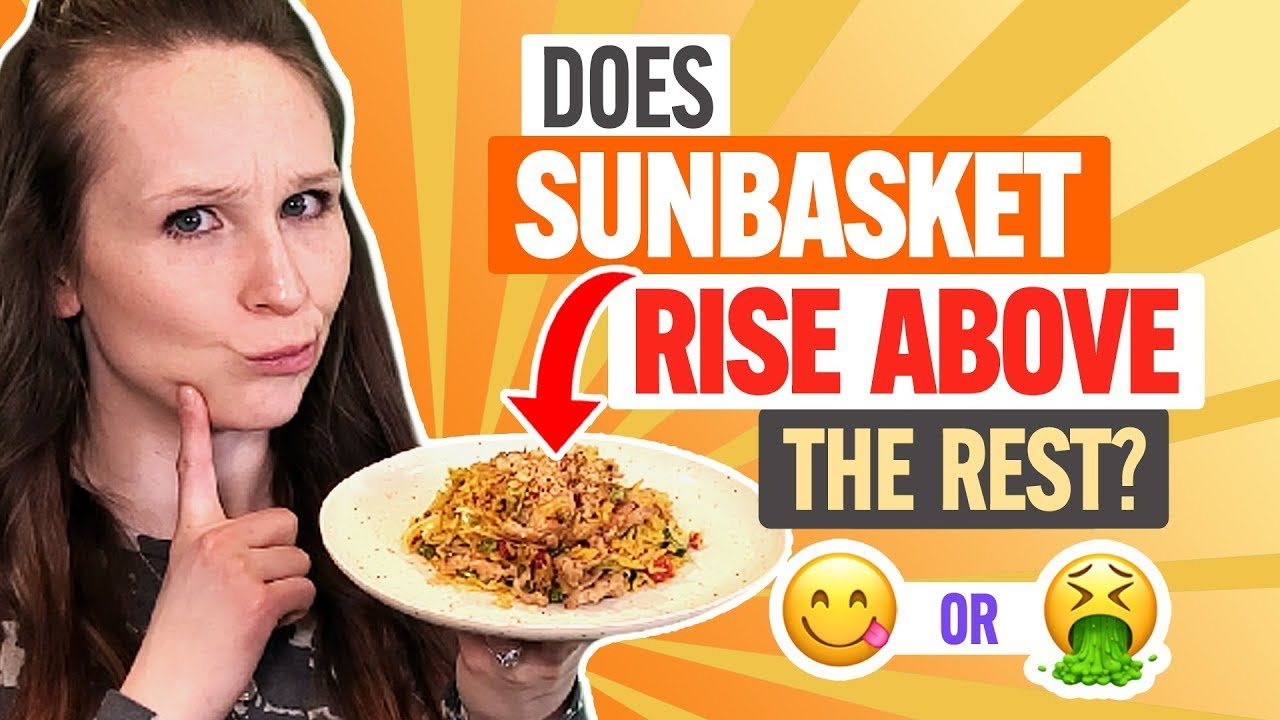 ☀️ Sun Basket Review:  20 Minute Meal Kit for Busy People? (Taste Test)
