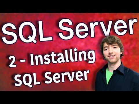 SQL Server 2 - Installing SQL Server 2016