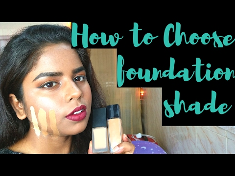 How to choose the right foundation color for Indian skin tone