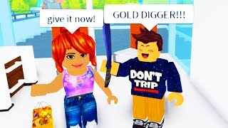 GOLD DIGGER TROLLING WITH ADMIN COMMANDS IN ROBLOX!