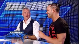 Tye Dillinger gets to experience the crowd reaction to his debut: WWE Talking Smack, Apr. 5, 2017