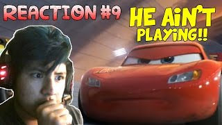 HOLY SH#T!! MCQUEEN IS NOT PLAYING!! | Reaction to Cars 3 Extended Sneak Peak (Reaction #9)