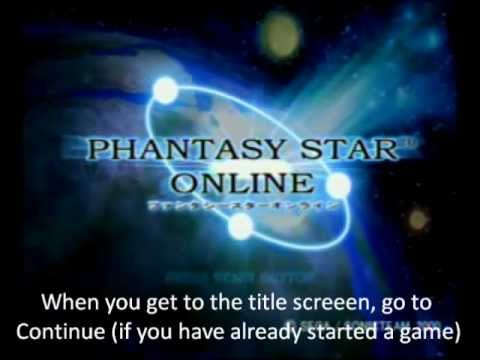 How to play Phantasy Star Online for Dreamcast online (using private servers)