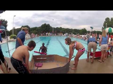 Cardboard Boat Race 2013