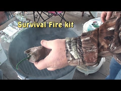 Life Hack: Survival Fire Kit. Guaranteed to start fires