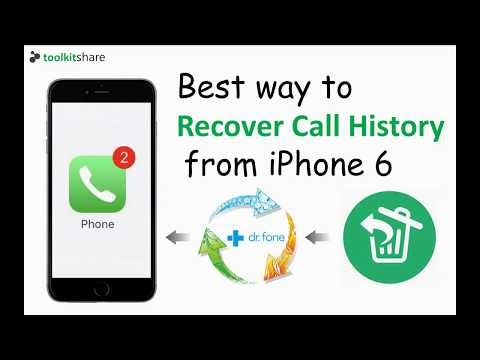 Best way to Recover Call History from iPhone 6, step by step to restore iPhone Call History