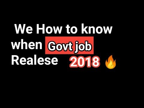 Get Govt. Job quickly | Using your E-mail |Job in Assam 2018 |
