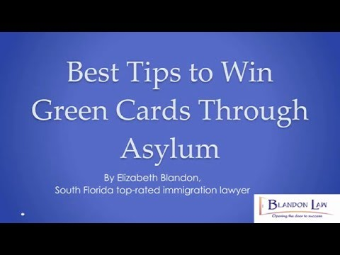 Best Tips to Win US Green Card Through Asylum - Written by Expert