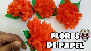 Flores De Papel Crepé - Cempasúchil