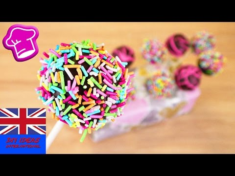 How to make these lovely CAKE POPS? simple basic recipe for beautiful cake popsicles | delicious