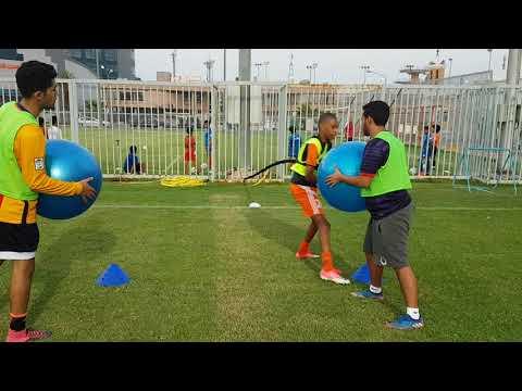 Explosive power training in football