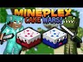 MINECRAFT CAKE WARS! - IT'S LIKE BED WARS BUT WITH CAKE!!! Minecraft 1.2 Mini-Games