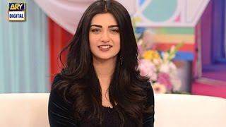 Sarah Khan Describing Her Future Plans for 2017