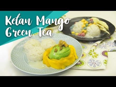 Resep Ketan Mango Green Tea by Yuda Bustara | GO COOK #1