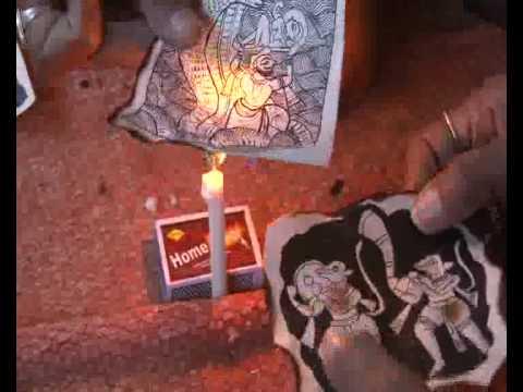 IGRMS Do & Learn Rajasthani Kolaj Painting 19 January, 2010. Karo aur Seeko