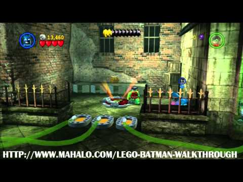 LEGO Batman Walkthrough - Mission 4: A Poisonous Appointment
