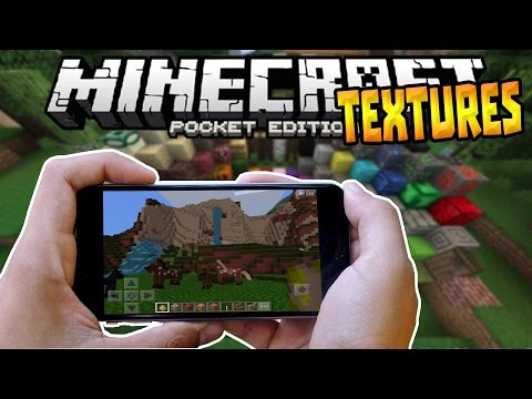 HOW TO INSTALL TEXTURE PACKS!!! - MCPE 0.16.0 iOS & Android - Minecraft PE (Pocket Edition)