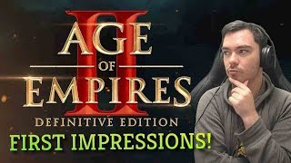 Age of Empires 2: DEFINITIVE EDITION // First Impressions Stream!