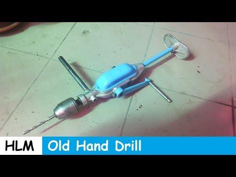 Old Hand Drill Restoration