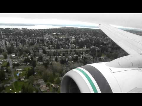 Gusty Approach into Seattle