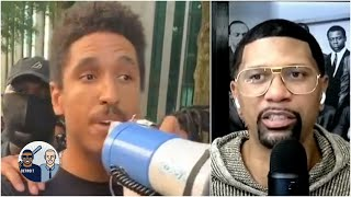 Jalen praises NBA players for participating in protests over George Floyd's death   Jalen & Jacoby