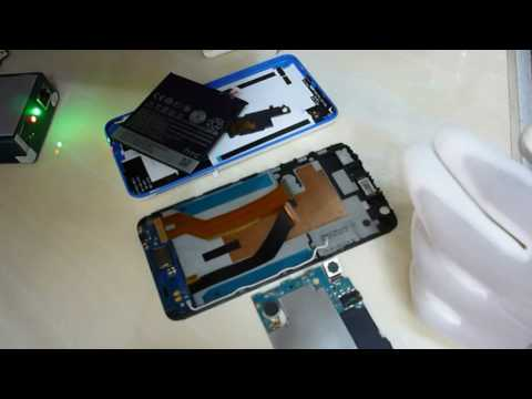 how to change screen HTC Desire 820G +Disassembly