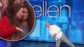 Ellen Eavesdrops on Her Audience's Conversations