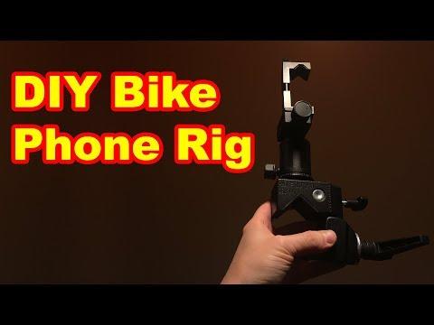DIY Bicycle Camera Phone Tripod Mount