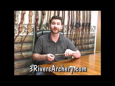 Demonstrating the Easton Archery Universal Nock Tool
