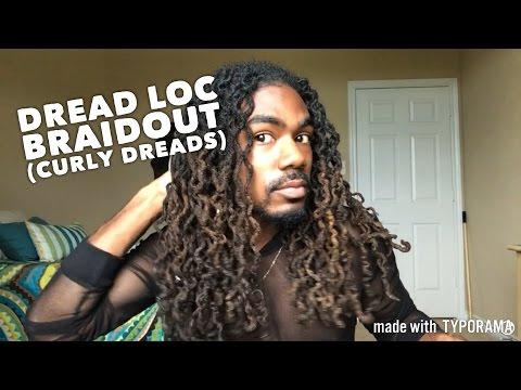 Dreadloc BraidOut (Curly Dreads)