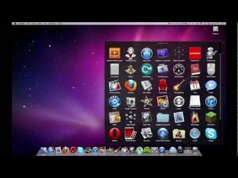 How to put your application folder into your dock (Mac)