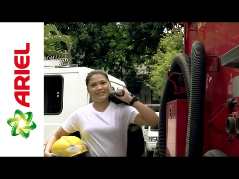 Jobelle Takes on the 100 Stains Challenge - Ariel