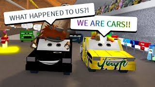 MORPHING YOUTUBERS INTO CARS! (Roblox)