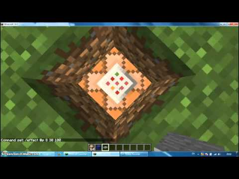 How to jump high and run fast command blocks-minecraft