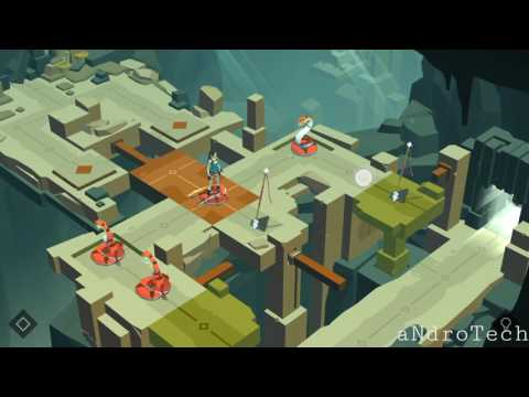 Lara Croft GO - 3. The terrace of forked tongues (THE MAZE OF STONES)