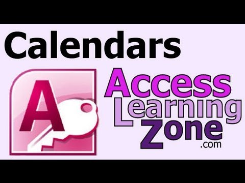 Create a Calendar in Microsoft Access