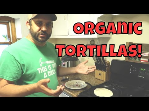 Simple Homemade Tortillas - With Everyday Ingredients!