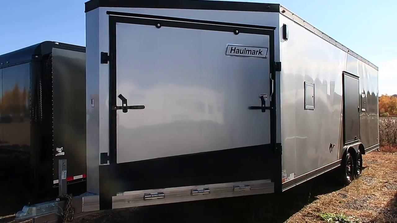Light Weight Aluminum Haulmark 4 place snowmobile trailer for sale $14977