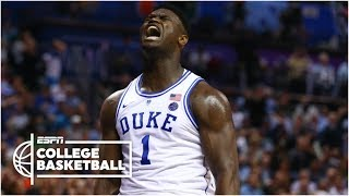 Zion Williamson puts on a show in return for Duke vs. Syracuse | College Basketball Highlights