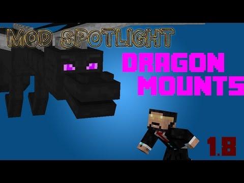 How To Tame Your Dragon!! Mod Spotlight Dragon Mounts!!!