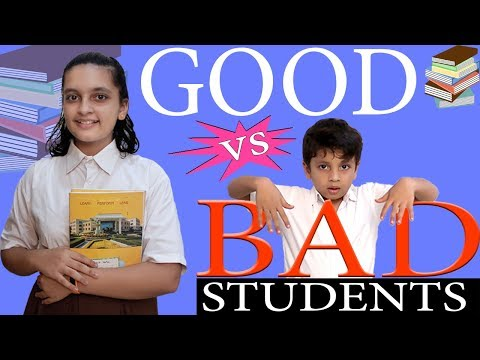 Xxx Mp4 GOOD Vs BAD STUDENTS In School Life Funny Types Of Students In Class Room Aayu And Pihu Show 3gp Sex