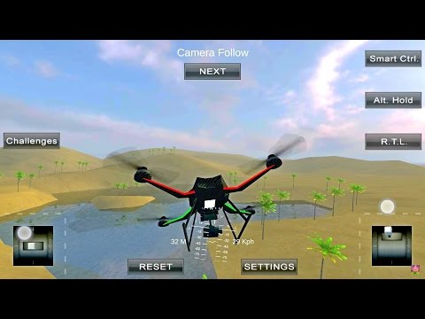 Learn how to Fly a Quadcopter on your Smartphone (Basic Flying Tutorial, Quadcopter FX)