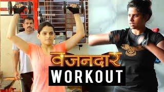 Sai - Priya At The Gym   Behind The Scenes   Vazandar Marathi Movie 2016